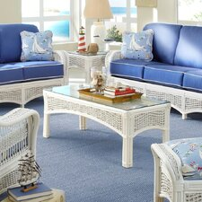 <strong>Spice Islands Wicker</strong> Regatta Coffee Table Set