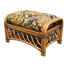 <strong>Spice Islands Wicker</strong> Montego Bay Upholstered Glider Ottoman