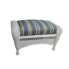 Grand Caymen Ottoman with Cushion
