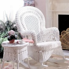 <strong>Yesteryear Wicker</strong> Country Rocking Chair