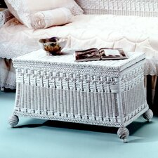 <strong>Yesteryear Wicker</strong> Classic Blanket Chest