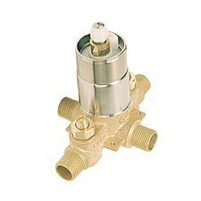 Rough-in Tub Valve and Shower Pressure Balance Valve with Integral Stop