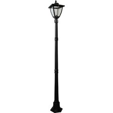 "<strong>Nature Power</strong> Bayport 72"" Solar Lamp Post"