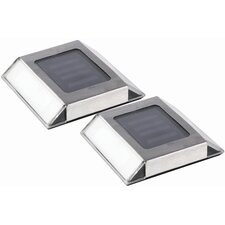 Solar Powered Pathway Lights (Set of 2)