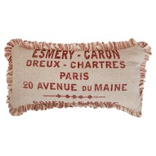 Artisan Large Skinny French Words Pillow