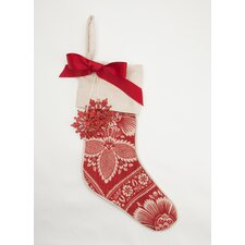 <strong>Provence Home Collection</strong> Print Stocking