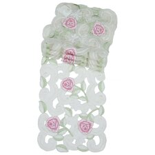 Dainty Rose Traycloth (Set of 4)