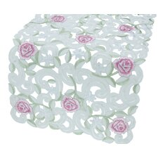 Dainty Rose Table Runner