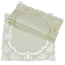Dainty Lace Square Doily (Set of 4)