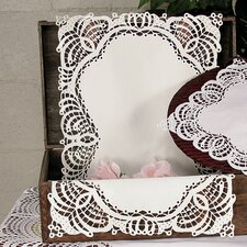 Dainty Lace Placemat and Napkin Set