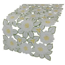 Dainty Flowers Table Runner