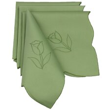"Tulip Bouquet 21"" x 21"" Napkin (Set of 4)"