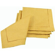 Melrose Cutwork Hemstitch Square Napkin (Set of 4)