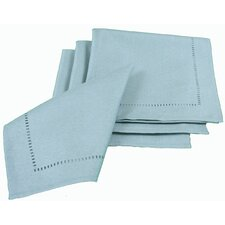 <strong>Xia Home Fashions</strong> Melrose Cutwork Hemstitch Square Napkin (Set of 4)