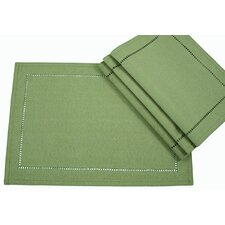 Melrose Cutwork Hemstitch Placemat (Set of 4)
