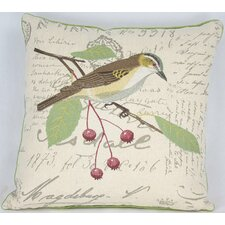 Avian Bird Cotton Pillow