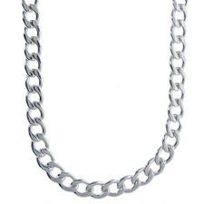 Stainless Steel Thick Curb Chain Necklace