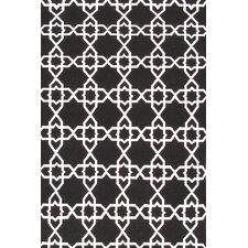 Sahara Black/White Area Rug