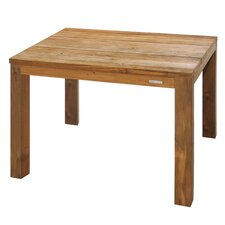 Vigo Square Dining Table with Teak Frame
