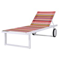 <strong>Mamagreen</strong> Stripe Chaise Lounge