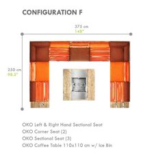 Oko 8 Piece Seating Group with Cushion