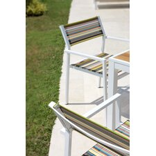 Stripe Dining Arm Chair