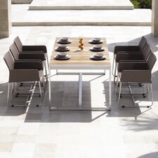 <strong>Mamagreen</strong> Zudu 7 Piece Dining Table Set