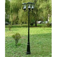 "Solar 8 Light 90"" Post Lantern Set"