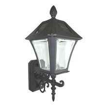 <strong>GamaSonic</strong> Baytown Solar Wall Mount Lamp