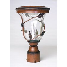 Decorative 6 Light Solar Post Lantern