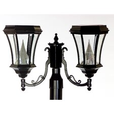 Victorian Fitter Mount Solar Lamp