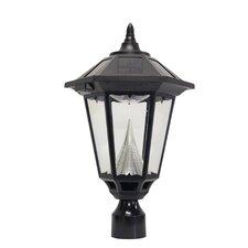 Windsor Eleven-LED Solar Light Fixture on Three-Inch-Diameter Pole Fitter
