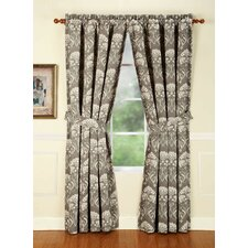 <strong>Home Fashions International</strong> Daphne Lagoon Rod Pocket Curtain Single Panel