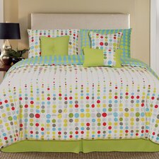 Palmetto Print Works Matrix 7 Piece Comforter Set