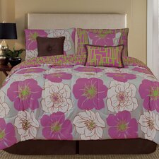 Palmetto Print Works Retro 7 Piece Comforter Set