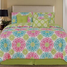 Palmetto Print Works Centella 7 Piece Comforter Set