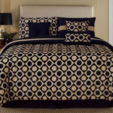 Palmetto Print Works Domino 7 Piece Comforter Set