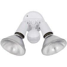 <strong>Globe Electric Company</strong> 2 Light Outdoor Security Light