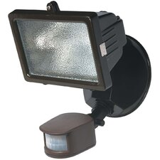 1 Light Outdoor Security Halogen Floodlight