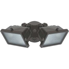 2 Light Outdoor Security Halogen Flood Light