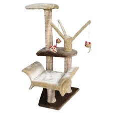 "16"" Lounger Climbing Cat Tree"