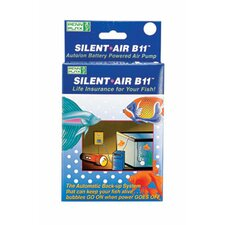 Silent-Air B11 Battery Aquarium Air Pump