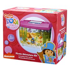 Nickelodeon Dora the Explorer 4 Gallon Aquarium Kit