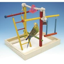 Medium Wooden Playground Bird Activity Center