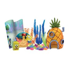 Nickelodeon SpongeBob SquarePants Aquarium Decorating Kit