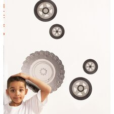 Teyo's Tires Wall Decal (Set of 2)
