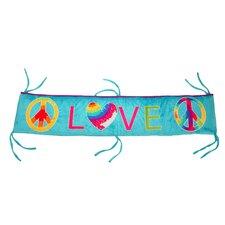 Terrific Tie Dye Crib Bumper/Rail Cover