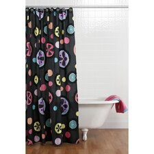 Magical Michayla Cotton Shower Curtain