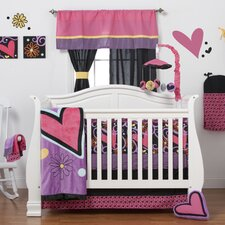 Sassy Shaylee 5 Piece Crib Bedding Set