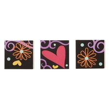 Sassy Shaylee Canvas Art (Set of 3)